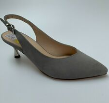 Peter Kaiser 'Caileen' pale grey suede sling-backs, UK 5/ EU 38, BNWB
