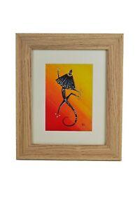 Frill Necked Lizard Framed Print, Australian Wildlife