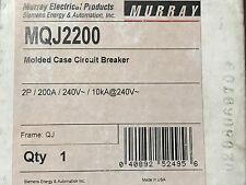 Siemens Murray MQJ2200 MQJ 200A 200 Amp Molded Case Circuit Breaker NEW NOS