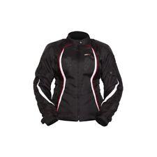 M Medium Womens MotoDry Paris Jacket Sports Touring Motorbike Black White Red