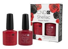 CND SHELLAC Perfect Pair Duo Ruby Ritz & Wildfire 7.3ml Nail Polish Set **RARE**
