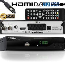 Tempo 4000 Decodeur TNT HD pour TV / FULL Decodeurs Peritel Tempo-4000