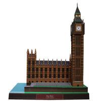 Brand New DIY The Big Ben UK Famous Building 3D Paper Model Creative Puzzle Kit