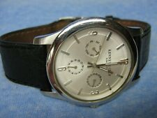 Men's KENNETH COLE Water Resistant Multi-Function Watch w/ New Battery