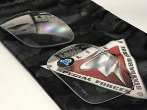 Oakley SI DET Cord CLEAR Ballistic Safety Lens set - Ansi Z87.1 + Lenses Only