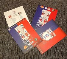 More details for newport county v morecambe play-off final sold out programme+lineup 31/5/21 !!!