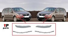 VW Touran MK1 1T1 1T2 2003-09 Chrome Arrière Protection Pare-chocs Scratch Guard S Steel