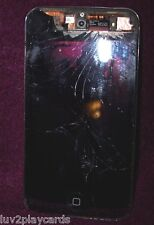 Apple iPod touch 4th Generation Black (8 GB) A1367 For Parts ONLY/Broken Screen