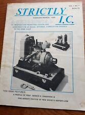 Strictly I. C. Model gas engine magazine Vol 1 No 1 Feb 1988 - Mar 1988