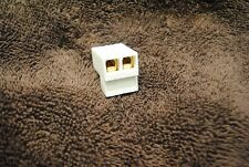 Rare Old School Precision Power Ppi White Art Series Plug Connector Factory New
