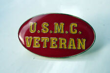 ZPs Unusual United States Marine Corps USMC Veteran Military pin badge