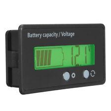 LCD 12V 24V 36V 48V Lead-Acid /Lithium Battery Status Voltage Voltmeter Monitor