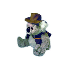 "BNWT - Australian Marsupial Koala with Swag and Hat ""Wally"" Soft Plush Toy 23cm"