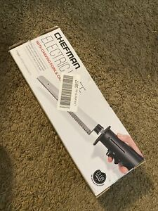 Chefman, Electric Knife, Carving Fork, Case