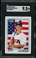 ALEX BREGMAN 2010 Bowman Draft # BDPP95 RC Rookie (Astros) SGC 9.5 MT+