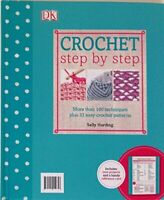 Crochet Step by Step, Very Good Condition Book, Sally Harding, ISBN 978024101285