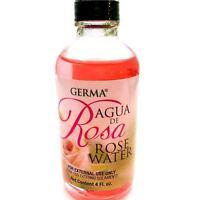 GERMA Rose Water Agua de Rosa Flower Water Skin Facial toner Cleanser Piel Cara