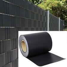 PVC Privatsphäre Sichtschutz Rolle Zaunfolie Balkon Windschutz Zaun Streifen Top