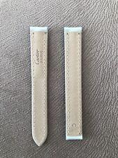 Genuine  Cartier   Green      Silicon  Watch Strap 13-12mm