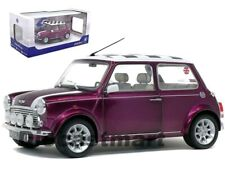 Mini Cooper S Purple 1997 Check Roof 1 18 Scale SOLIDO 1800606