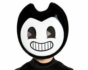 Bendy CHILD Half Mask Costume Accessory NEW