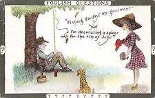 Cobb Shinn~Foolish Questions~Lady Scout~Fishing Today? Decorating Spider Web~'12