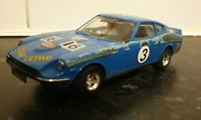 Vintage Scalextric C053 Datsun 260z Slor Racing Car Blue #3 Working Texaco
