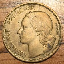 1951 20 Francs Liberty Bust Coin - Paris Mint