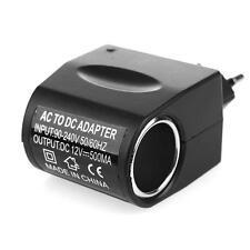 Car Cig arette Lighter Adapter Converter 220V Wall Power to 12V DC Car Ciga ret