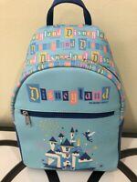 Funko Disney Disneyland Resort 65th Anniversary Mini Backpack Castle !!
