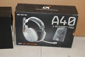 Astro A40 Wired Gaming Headset + MixAmp Pro PC/XBOX/PS3/PS4 in Box