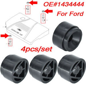 4 PC For Ford Mondeo Focus C-Max Car Engine Cover Rubber Mounting Bush Grommet
