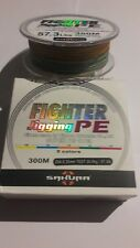 tresse fighter jigging pe 300m 0.35mm 26kg multicolor