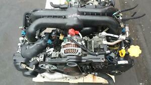 SUBARU WRX LEGACY SPEC B 2.0L TURBO EJ20X ENGINE