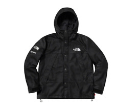 Supreme x TNF montaña de Cuero Parka-Negro-XL-vendido! pedido confirmado!