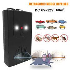 Car Engine Ultrasonic 12V Mouse Repeller Gauge Rat Rodent Pest Animal Deterrent