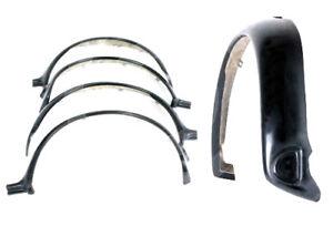 "CLASSIC MINI WHEEL SPORTPACK ARCHES WORKS SET 4 FIBRE GLASS WIDE 3.5"" Z3565"