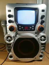 Gpx Jm250S Karaoke System Cd+G Home Party Machine With New Mic And Av Cable