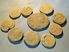 """10 Uncleaned and Unresearched Roman Bronze Coins, mostly """"as dug""""."""