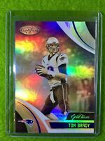 TOM BRADY PRIZM CARD JERSEY #12 PATRIOTS SP REFRACTOR 2018 Panini Certified GOLD