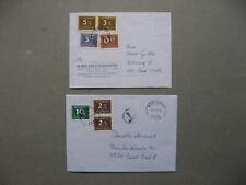 AUSTRIA, cover + card 1997/99, postage due