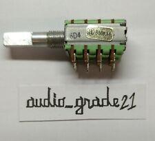 Potenziometro di precisione Quadruplo ALPHA B50KX4 LINEARE D Shaft AUDIOGRADE