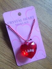 Heart Necklace Libby Pendenat Christmas Stocking Filler