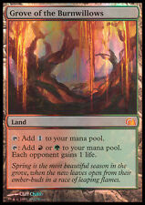 MTG GROVE OF THE BURNWILLOWS FOIL EXC - BOSCHETTO DEI SALICI ARDENTI - FTV