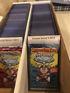 Garbage Pail Kids Chrome Series 2 Complete Set W/ Complete Returning Set Nice 🔥
