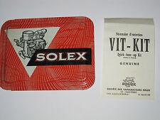 OPEL REKORD S 1900 1966-67 GENUINE SOLEX 32-35 DIDTA CARB REBUILD KIT NEW