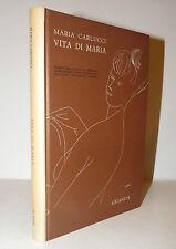 Poesia - Maria Carlucci: Vita di Maria 1966 Guanda dedica autografa autrice 2a