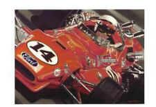 A J FOYT COLIN CARTER 1964 1967 1977 INDY 500 WINNING CARS POST CARDS