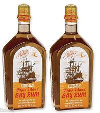 Clubman VIRGIN ISLAND BAY RUM AfterShave Lotion Colonge 2 -12 oz.