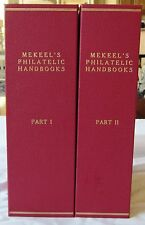 Mekeel's Philatelic Handbooks, cplt run of 46 plus Second Editions in Solanders